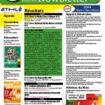 Newsletter du 19 novembre 2019 + Athlètes du mois d'octobre